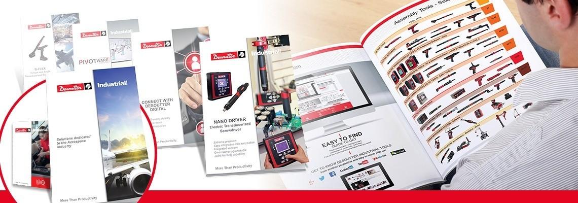 Catálogos e Folhetos de Desoutter Industrial Tools