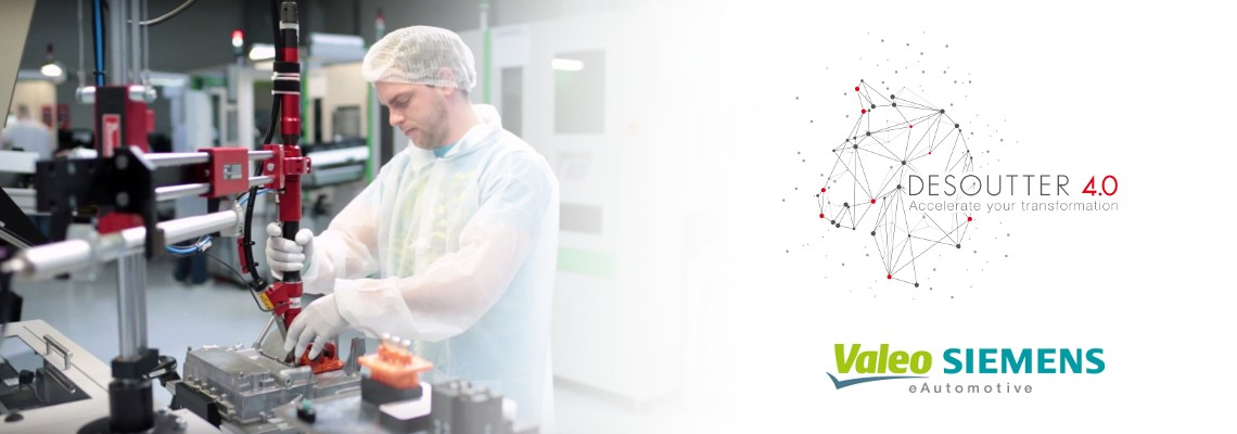 Valeo Siemens eAutomotive confia em soluções Desoutter!