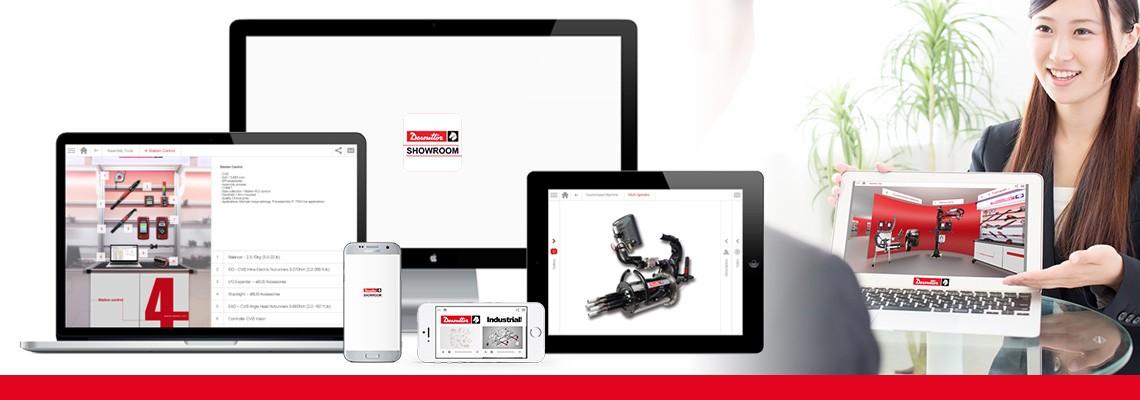 Baixe o aplicativo Showroom para conhecer todas as nossas soluções de montagem e furação através de imagens  e vídeos. A Desoutter está sempre ao seu lado, mesmo  offline.