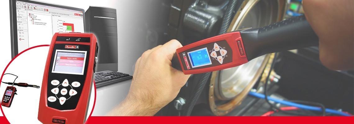 A nova geração de analisador Delta é a solução portátil e compacta  com apenas 500g para monitorar todos os tipos de ferramentas de produção.<br/>Combinado com os transdutores de torque padrões DRT ou DST da Desoutter, ele é capaz de calibrar ferramentas pulsativas, apertadeiras eletrônicas ou torquímetros. Dividido em três modelos para a medição medição de Torque (DELTA 1D), medição de Torque e Ângulo (Delta 6D) e capacidade de verificação de torque residual com chave DWTA (Delta 7D).<br/>