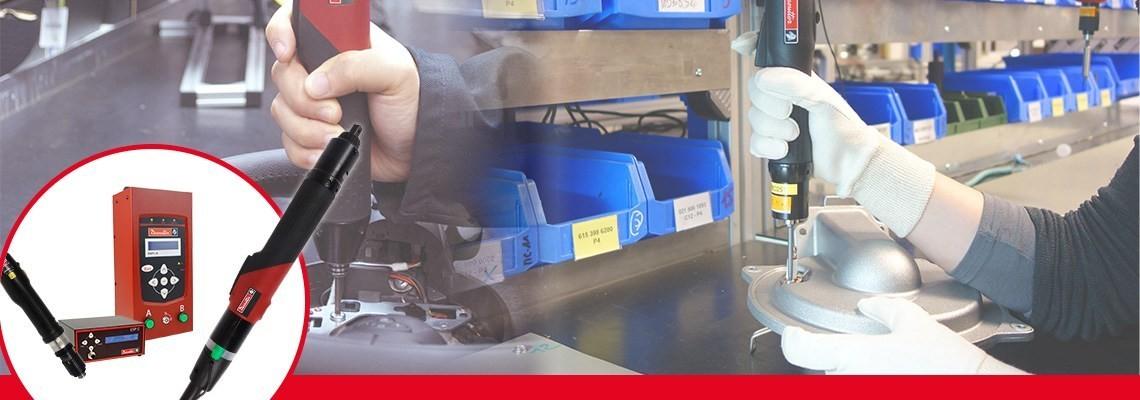 Conheça as linhas de ferramentas SLBN e SLC criadas pela Desoutter Industrial Tools. Duas linhas  completas de parafusadeiras elétricas projetadas para alta produtividade.
