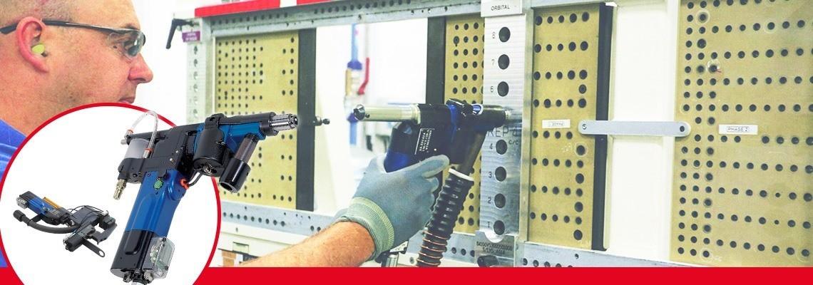As unidades de furação pneumática avançadas da Linha Seti-Tec são dedicadas para operações de furação semi-automáticas para equipamentos de montagem aeronáutica.