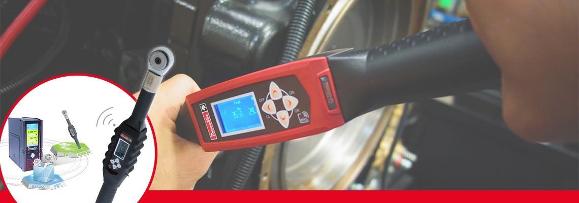 Você está procurando uma ferramenta que combine produtividade e qualidade? Conheça os torquímetros digitais projetados pela Desoutter Tools com aperto de juntas controlado.